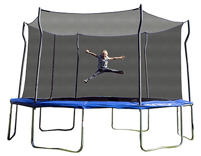 Kinetic trampolines 14ft trampoline